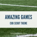 Amazing Games Cub Scout Theme (Kerjasama)