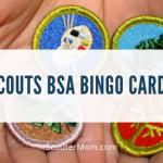 Kartu Bingo untuk Scouts BSA (Boy Scout Bingo)