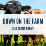 Down on the Farm Cub Scout Theme