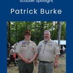 Scouter Spotlight: Patrick Burke