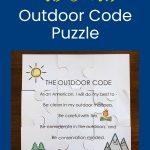 Cara Membuat Puzzle Kode Cub Scout Outdoor