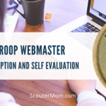 Deskripsi Webmaster Pasukan dan Evaluasi Diri