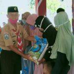 Kwarcab Sampang Salurkan Bantuan Paket Bahan Makanan