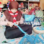 Estetia Mustika Shani; Adopsi Belasan Warung, Kelola Sampah Sachetnya