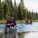 Mendayung Melalui Taman Nasional Yellowstone
