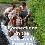 Koneksi dalam Persyaratan Peringkat Cub Scout