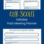 Perencana Pertemuan Cub Scout Pack Gratis