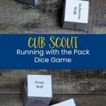 Cub Scout Wolf Adventure Menjalankan dengan Game Pack Dice