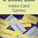 6 Game Kartu Indeks Scout Law yang Menyenangkan dan Bermanfaat