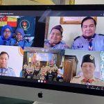 JOTA-JOTI 2020, Pertemuan Serumpun Lewat Skype