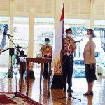Ketua Kwarda Gerakan Pramuka DI Yogyakarta beserta Seluruh Pengurus Masa Bakti 2020-2025 Dilantik Kamabida