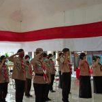 Pelantikan Brigade Penolong 13.35 dan DKC Pramuka Kota Mojokerto