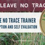 Deskripsi dan Evaluasi Diri Pelatih Leave No Trace
