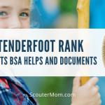 Scouts BSA Tenderfoot Rank Membantu dan Dokumen