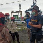 Pramuka Penegak dan Pandega Belajar Mengelola Pos Evakuasi Sriwijaya Air di JICT