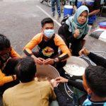 Pramuka Peduli Kwarcab Kota Solok Bantu Korban Banjir