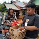 Pos Bantu Pramuka di Berbagai Wilayah Kalsel Terus Menyalurkan Bantuan