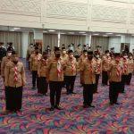 Sekjend Kwarnas Lantik Pengurus Mabida Gerakan Pramuka Lampung Periode 2020-2025