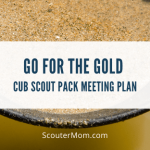 Paket Pertemuan Cub Scout Pack - Go for the Gold (Ketekunan)