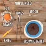 Resep Api Unggun yang Akan Disukai Anak Anda: Brownie dalam Jeruk