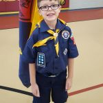 Cub Scout Sumbang Rambut Untuk Korban Kanker