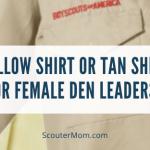Kaos Kuning atau Kaos Tan untuk Pemimpin Sarang Wanita?