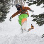 Pramuka Mengguncang Lereng Selama Akhir Pekan Ski Langit Besar