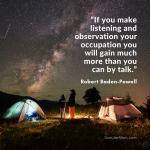 Mendengarkan dan Pengamatan