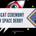 Upacara Bobcat untuk Space Derby