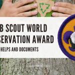 Penghargaan Konservasi Dunia Cub Scout: Bantuan dan Ide
