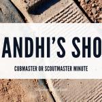 Sepatu Gandhi (Cubmaster atau Scoutmaster Minute)