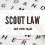 Teka-teki Pencarian Kata Hukum Pramuka