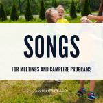Lagu untuk Rapat dan Program Api Unggun