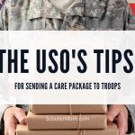 Kiat USO untuk Mengirim Paket Perawatan ke Pasukan