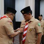 Menteri Kesehatan Dilantik Menjadi Ketua Mabi Saka Bakti Husada Nasional oleh Ketua Kwarnas