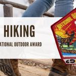 Penghargaan Lencana Luar Ruang Nasional untuk Hiking