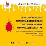 Gerakan Nasional Pramuka Pendonor Plasma Konvalesen