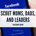 Grup Facebook Scout Moms, Dads, and Leaders
