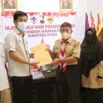 DKD Sumut Lapor Hasil Pleno Kepada Ketua Kwarda Gerakan Pramuka Sumatera Utara