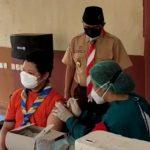 Saka Bhayangkara Jakarta Utara Gelar Vakinasi Covid-19, Khusus Dosis Pertama