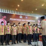 Ketua Kwarda Aceh Lantik Bupati Sebagai Ketua Mabikab Gerakan Pramuka Aceh Barat